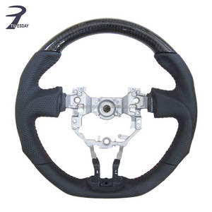 GT86 racing car made of 100% real carbon fiber and high quality leather steering wheel