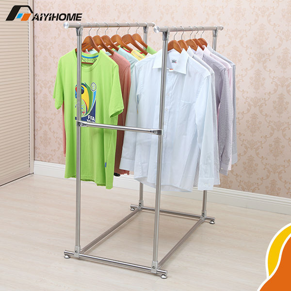 Indoor Clothes Dryer Rack 1pcs Stainless Steel Folding