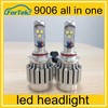 New selling 35w 3200 lumen h4 h13 9004 9007 cree led car headlight kit, d1 d2s 9005 9006 led headlight kit, h8 h7 led headlights