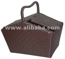 Synthetic Rattan Hotel Room Chemical Basket