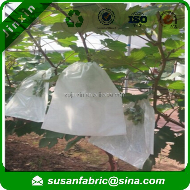 Antibacterial Environmental Breathable PP non woven fabric grape cover bag,grape growning bag
