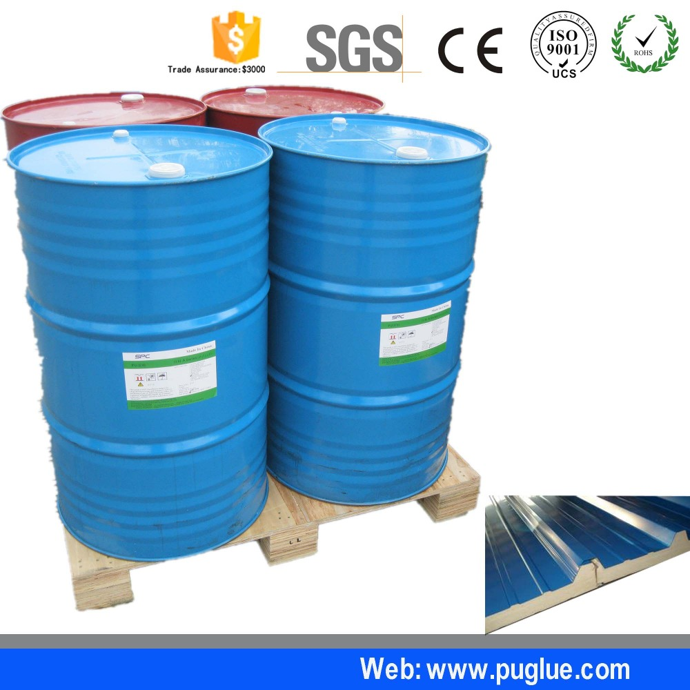 Two component polyurethane windshield adhesive for XPS Sandwich Panel