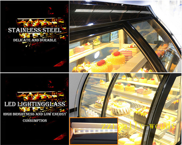 Mini Kühlschrank Glas : Fabrik versorgungsmaterial 220 v kuchen vitrine sushi display kühler
