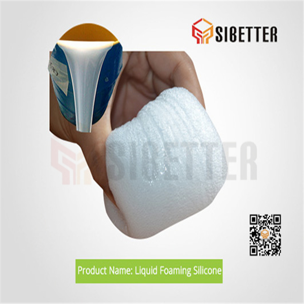 Addition Cure Liquid Foamed Silicone Rubber for Silicone