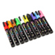 2017 new product 6mm 8 Colors Fluorescent waterproof Liquid Chalk Marker Pen LED Writing Board