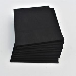 38 degree shore C anti-static black EVA foam sheet high density acoustic cross lined pe foam