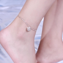Wholesale Silver Plated Traditional Indian Anklets for Babies foot Jewelry