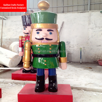 life size fiberglass christmas nutcracker outdoor fiberglass christmas decorations - Life Size Nutcracker Outdoor Christmas Decorations