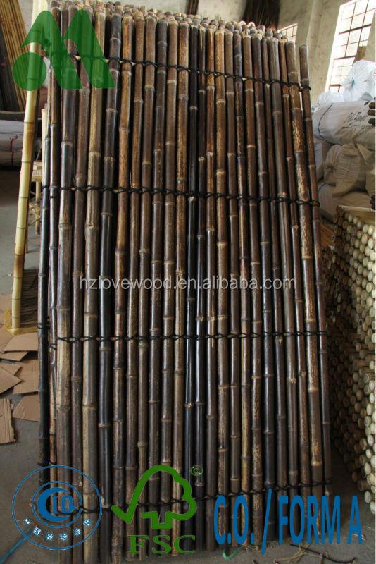 Zwarte bamboe schutting panelen hekwerk trellis en poorten product id 556840819 - Bamboe hek ...