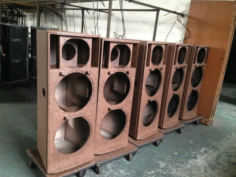 Pro Passive Pa System Equipment Audio Sound Speaker Plywood Cabinet