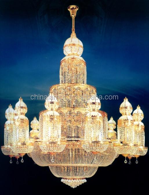 Luxury Crystal Chandeliers Priceshotel Lobby Chandelier Middle – Chandeliers Prices