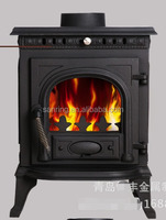 cast iron 6-7 KW wood burning stove for sale