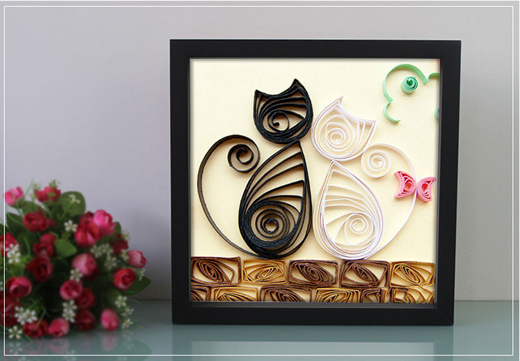 art 3d box picture frame black white shadow box frames wholesale - Wholesale Art And Frames