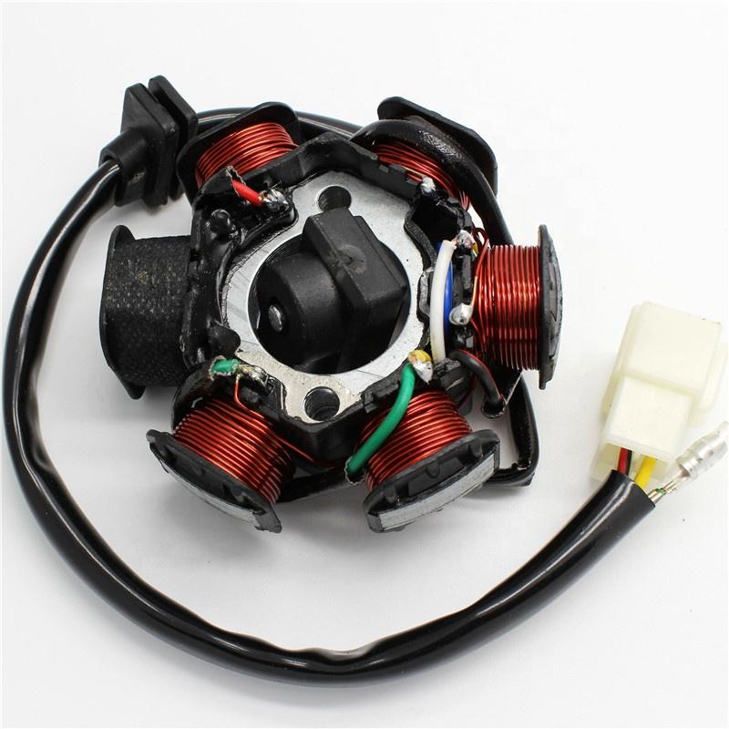JH70 Statorplatte Pickup Magneto Z/ündspule Rotor f/ür Pit//Dirt Bike 70ccm 90ccm 110ccm 125ccm Stator Z/ündspule