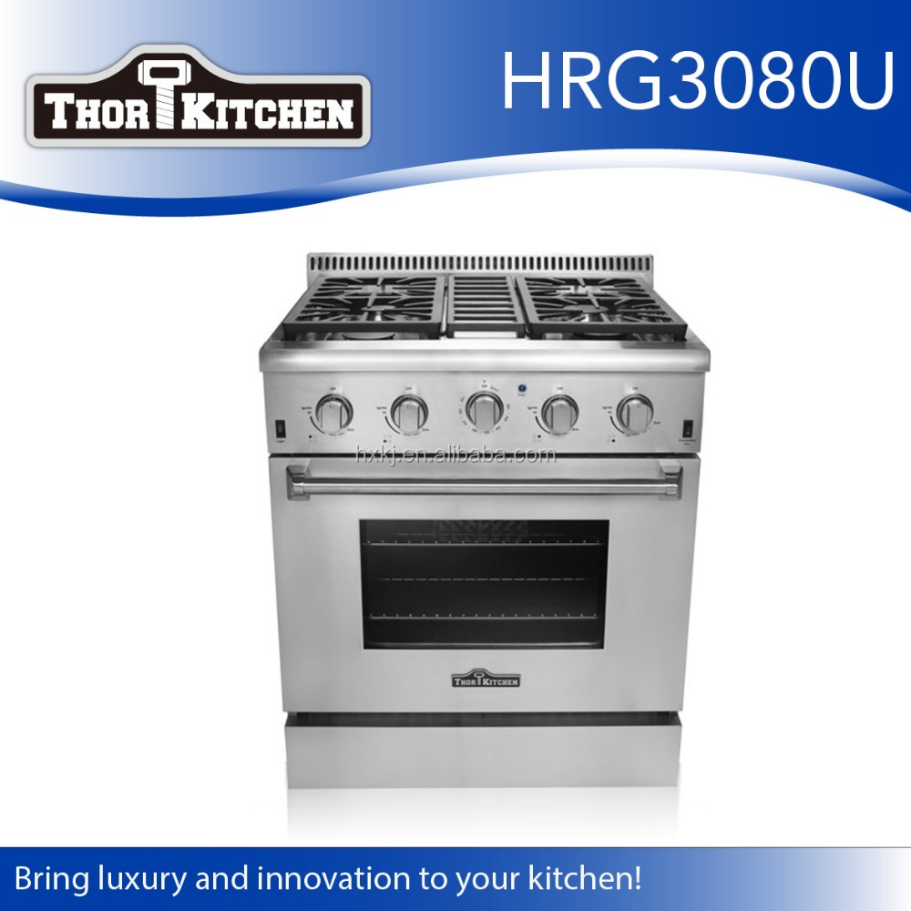 Wholesale Kitchen Equipment 4 Burner Gas Stove With Oven