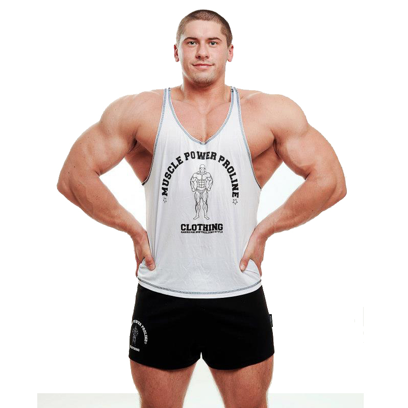 224934d22e5d6 Get Quotations · Stringer Vest Fitness Men GASP MPP Gym Tank Top Singlet  Bodybuilding Clothing Muscle Racerback Workout Shirt