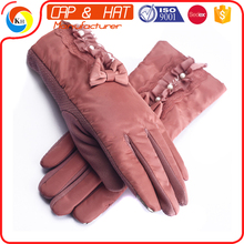 Customized Thinsulate Thermal Lined Stretch Winter Acrylic Knitted Glove for mobile phone