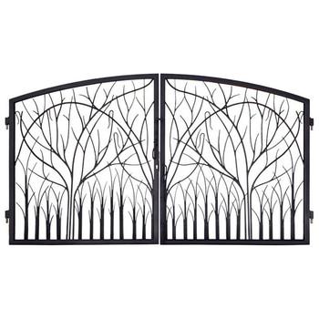 Decorative Steel Gate Frames And Gate Braces For Fence - Buy Decorative  Gates,Steel Gate Frames And Gate Braces For Fence,Decorative Steel Gate  Frames