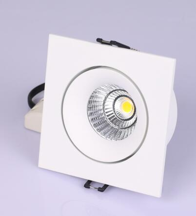 Square led ceiling downlight 9W High CRI 80 90 led indoor lamp