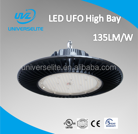 5 year warranty UL cUL DLC CE approved Dimmable120W UFO LED High Bay