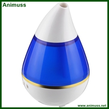 200ml 2W Ultrasonic Aroma Humidifier Water Drop Fogger Atomizer Diffuser with LED Light Purifier Refresher for Home