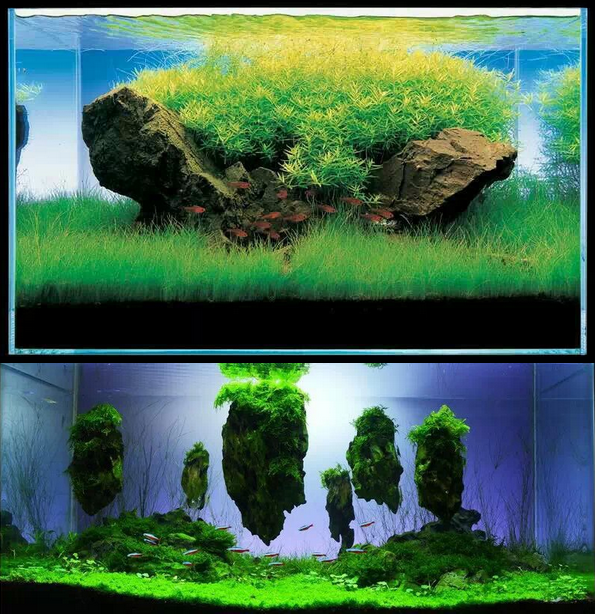 Wholesale Aquarium Fish Tank Decorative Floating Stone For ...