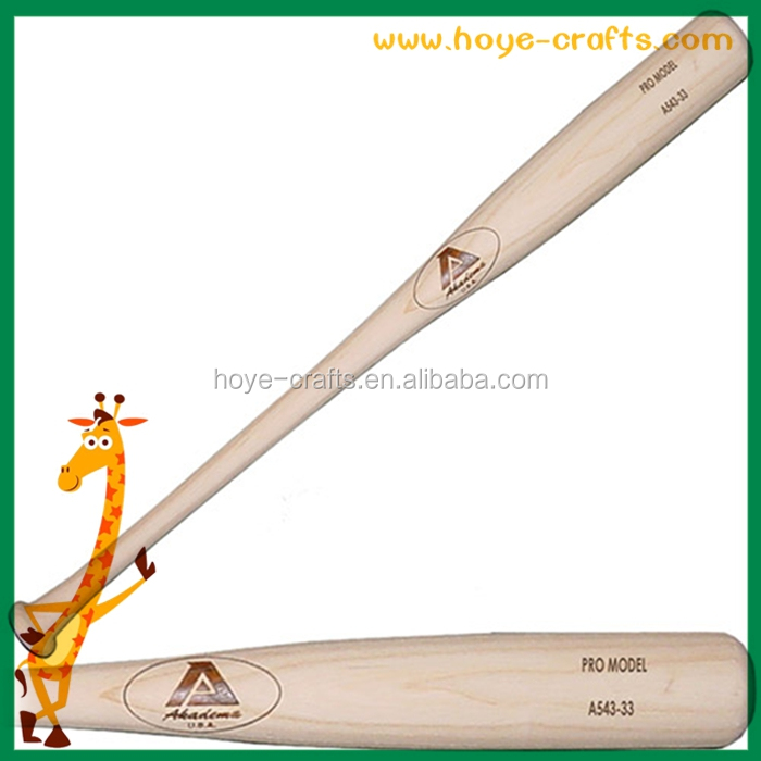 top quality maple wood Baseball Bats laser laser engraving logo on