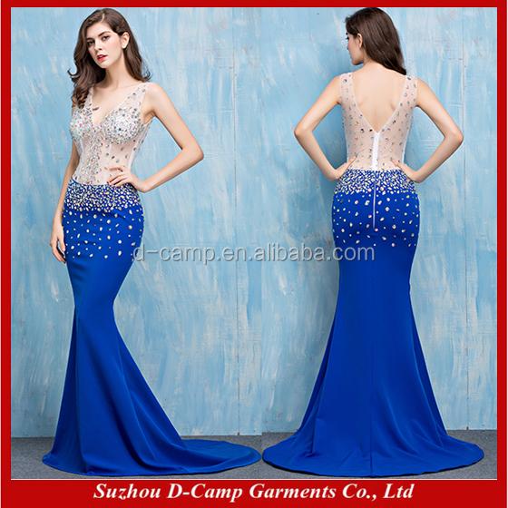 Vestidos para formatura azul royal