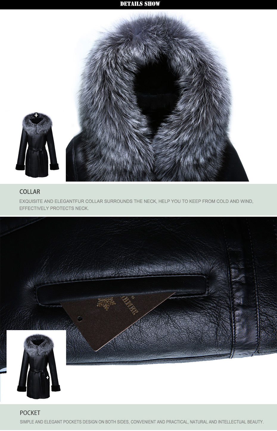 Women Genuine Leather Women Leather Clothing Good Quality Fur ...