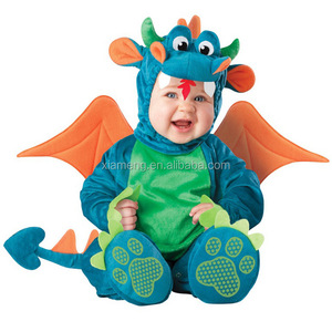 2017 new arrival dinosaur lion toddler /infant party animal halloween costumes for baby