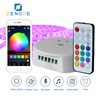 hot products 2018 new,Free APP WiFi led lght strip 5050 dimmer 12v/24v for led strip 15m by SmartPhone