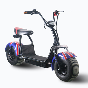 Electric 2 wheel Electric Scooter city coco 800w 1000w seev citycoco 2000w electric scooter with fat bike tire