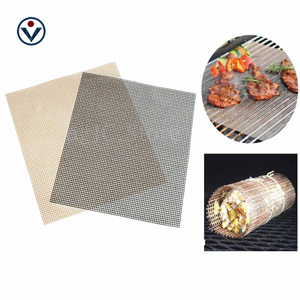 Dishwash Safe Nonstick Easily Cleaned Cheap bbq Grill Mesh