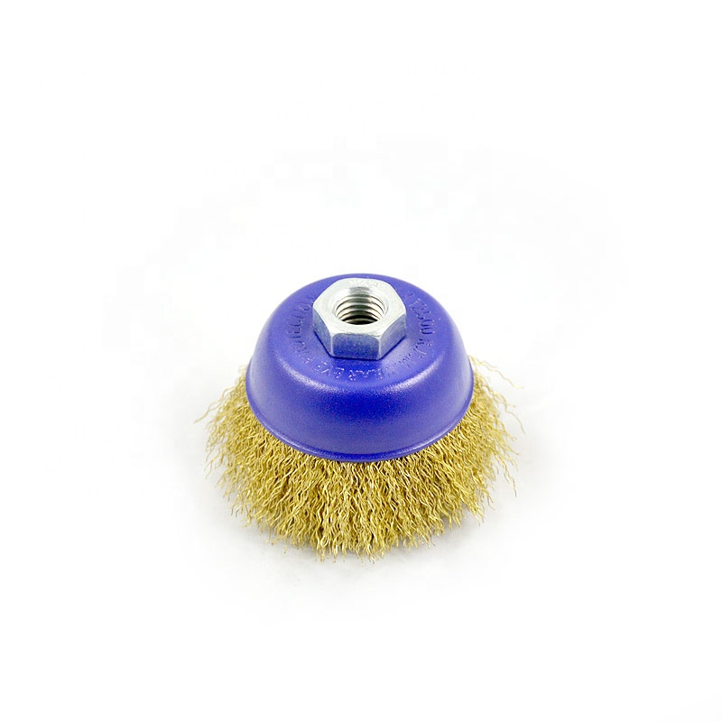 (High) 저 (Quality. Twisted Brass 컵 Function Wire Brush