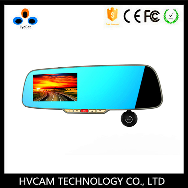Full 1080P Front and Rear Mirror Security Car Recording Cameras