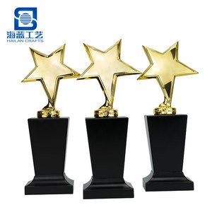 Custom metal gold sport run trophy fantasy american football table tennis bowling cricket golf trophy