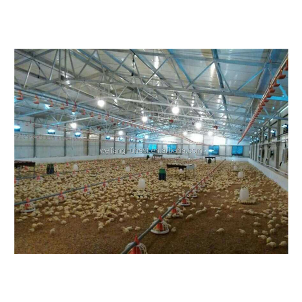 Large-scale Modern Poultry Farm Chicken House Design For Broiler Birds -  Buy Poultry Farm House Design,Poultry Farm Design,Broiler Poultry Farm  House