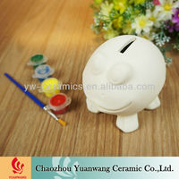 Frog Money Box DIY Ceramic Bsique Paint Your Own
