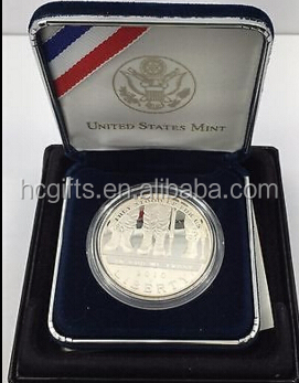 Custom coins hard enamel filled hand painted 2010 Disabled Veteran Coin