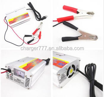HOT Car Battery Charger 10A Motorcycle Battery Charger Lead Acid Charger