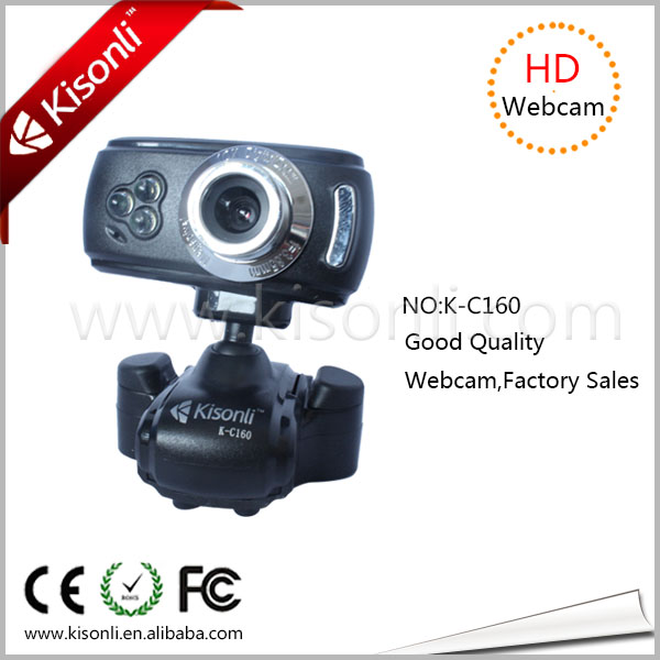 Factory Top Sell driver free usb pc camera microphone K-C160