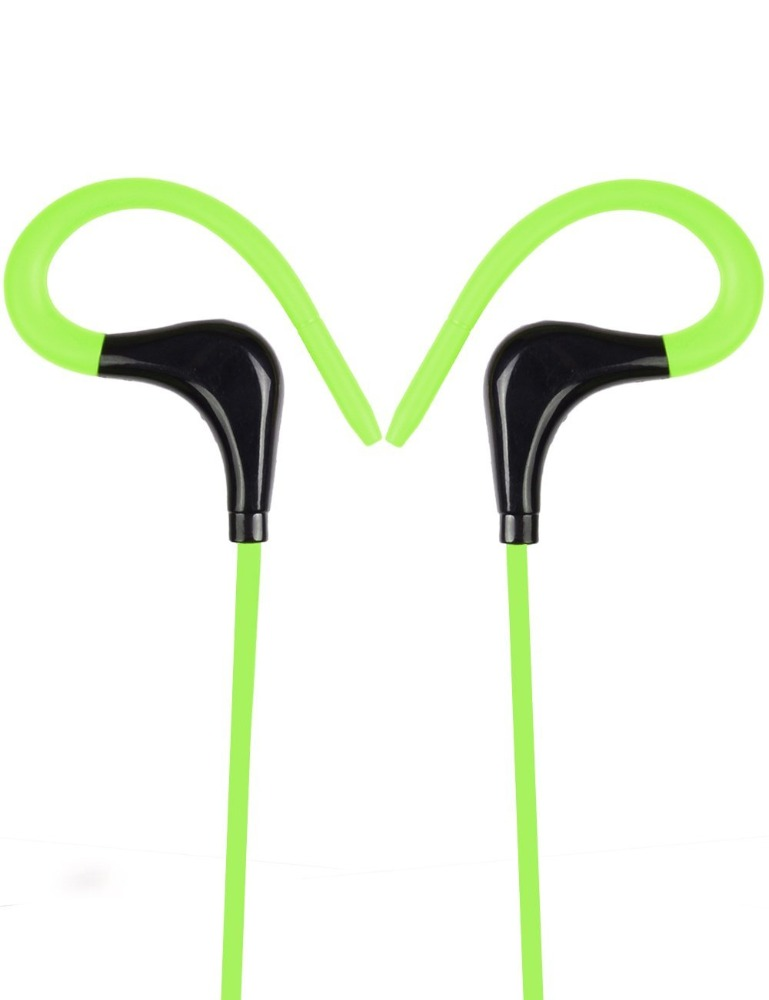 Portable sports stereo wireless bluetooth headset with microphone