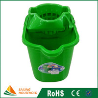 China gold suppliers recycled plastic bucket, mop plastic bucket, window cleaning bucket