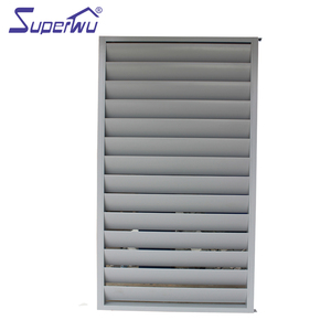 PVC balcony concrete louvers simple shutter windows
