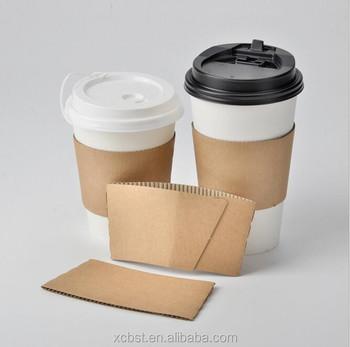 aeb684a237b different style 8oz/12oz/16oz/20oz custom logo printed coffee cup sleeve &