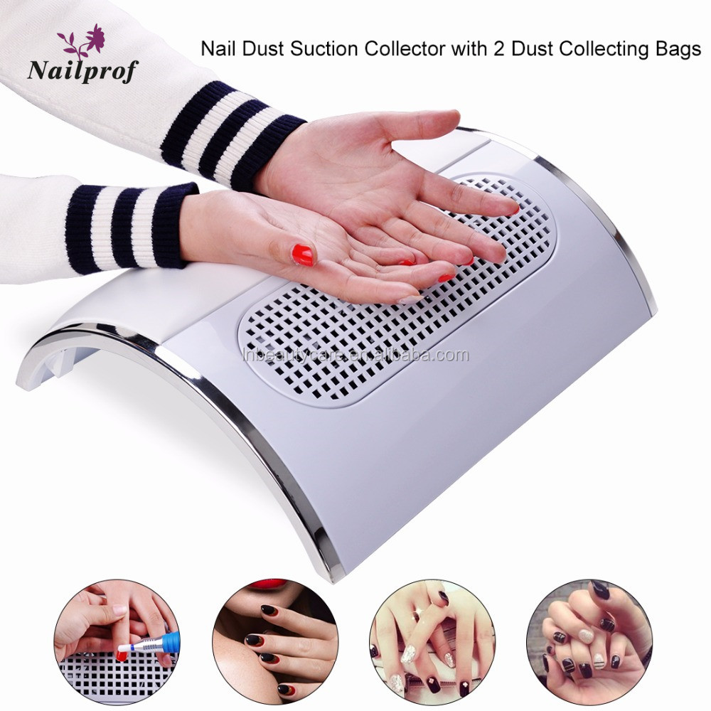 Excellent Manicure Nail Dust Collector Equipment Nail Dryer Vacuum ...
