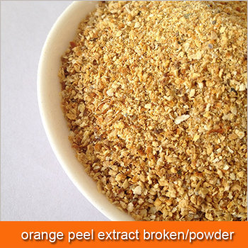 Orange peel and chili extract a