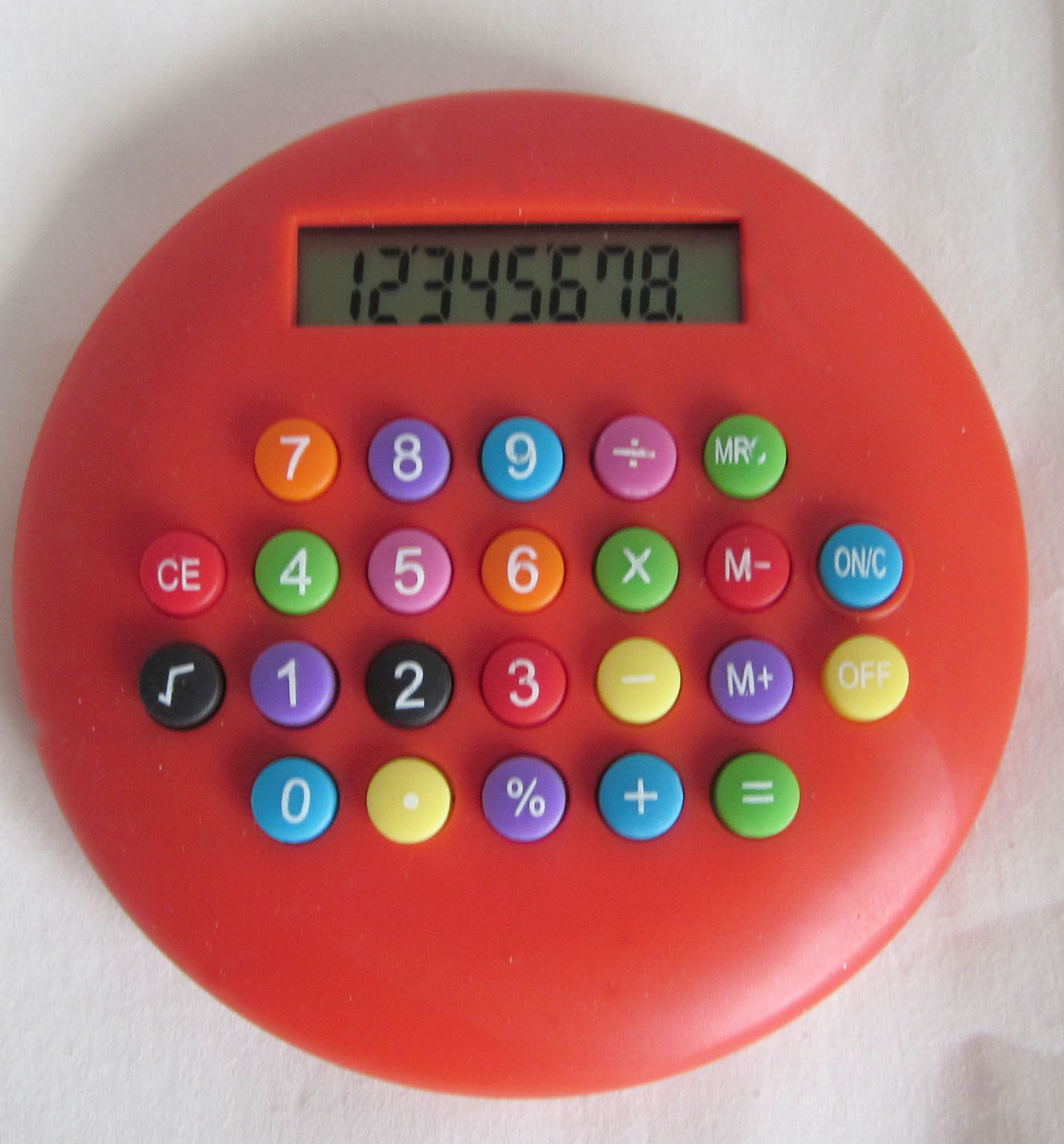 round cute calculator with colorful button buy calculator cute