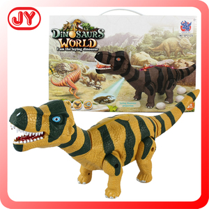 Kids play plastic assemble battery operated dinosaur toys