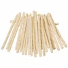 new product white rawhide pressed bone with beef taste dog bully stick treat